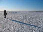 Frozen Baltic Sea