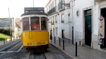 Tram 28 will take you around the best places of Lisbon starting with city center towards Sao Jorge Castle.