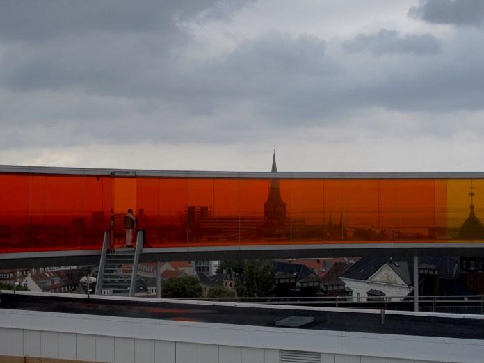 ARoS Art museum's Rainbow panorama, Aarhus