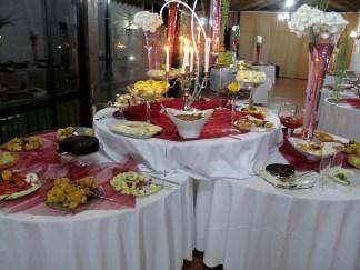 Late night buffet