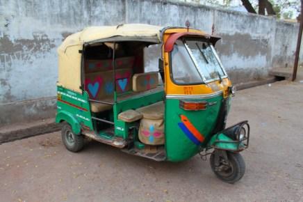 Tuk-tuk in Agra
