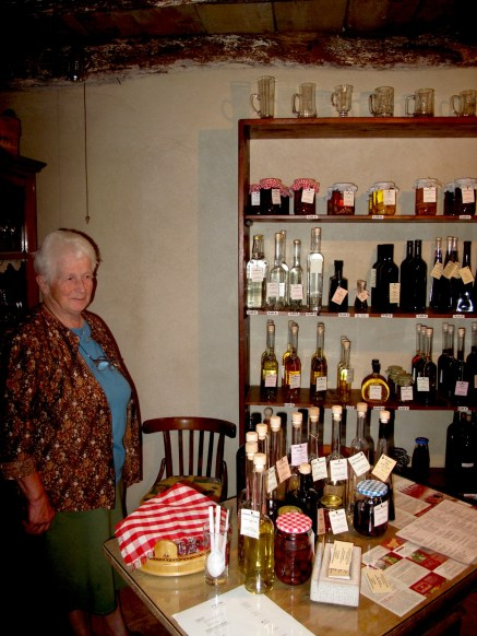 Home made wine mini shop in garage.