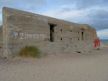 German bunker from the World War II