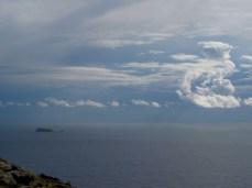 Beautiful Filfla island, located about 5km from Malta