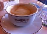 Coffee in legendary Majestic cafe in Porto, Portugal