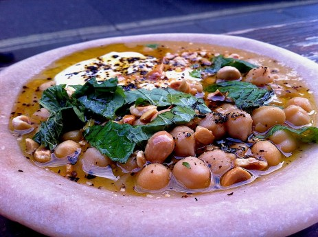 Chickpea stew in London