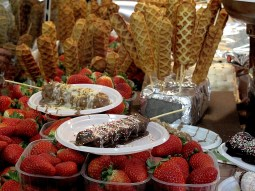 Chocolate fair in Florence