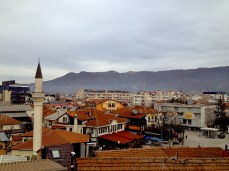 Panoramic view of Ohrid
