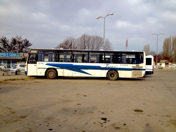 Bus station in Ohrid