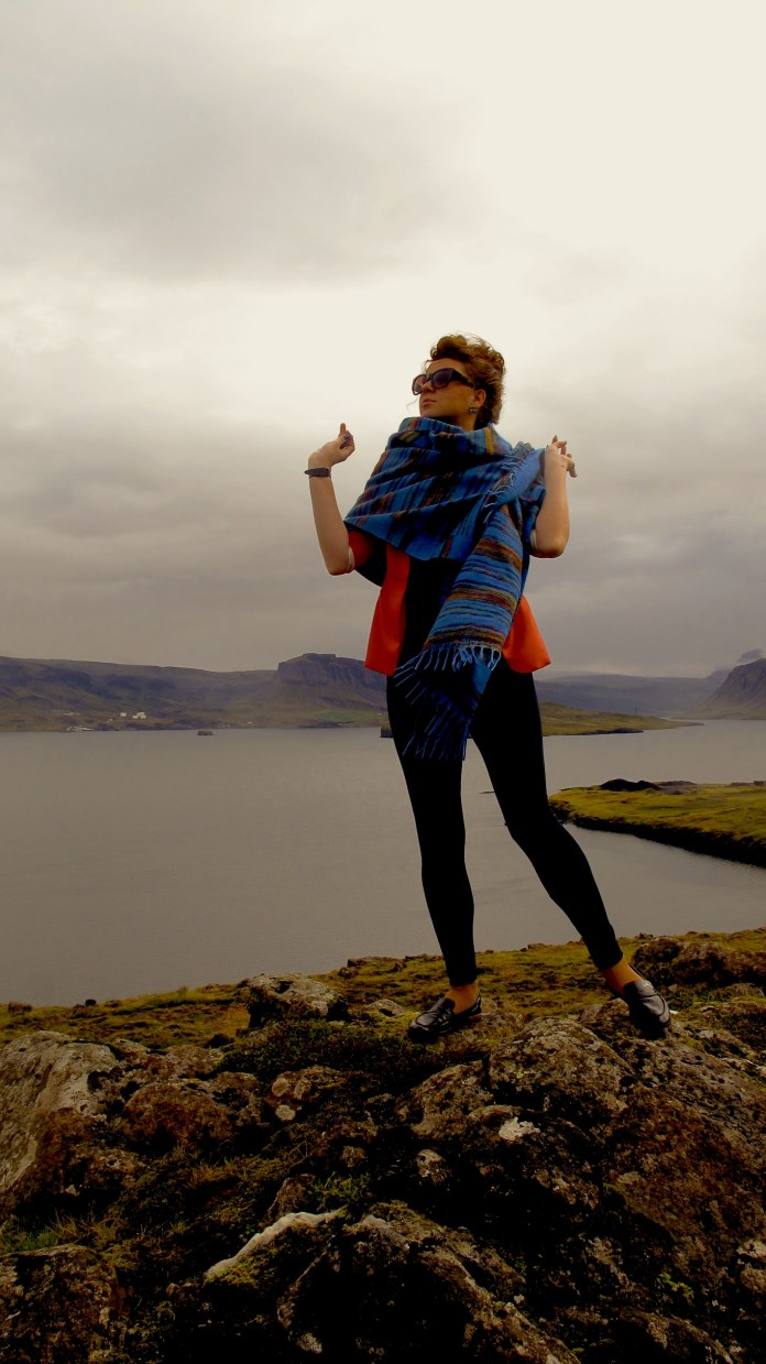 Me, my lady pose and Iceland