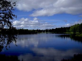 Lapland sky over Rovaniemi, Finland