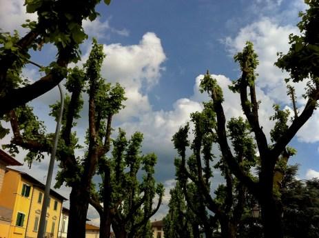 Sky over Borgo san Lorenzo, Italy