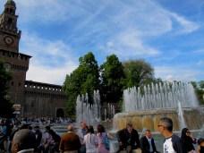 Sky over Milan, Italy