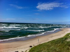 Sky over the Baltic sea, Lithuania