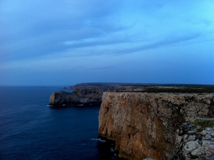 Sky over the Cape St. Vincent, Portugal