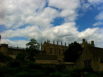 Sky over Oxford, UK