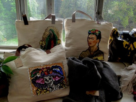 Did Frida Kahlo ever imagine, that her face will appear on the bag?