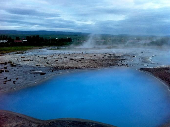 Hot springs and geysers in Iceland (photo - Gintarė Adamonytė)