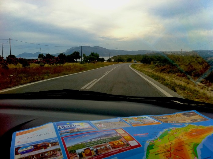 Using good old maps is much more romantic than listening to GPS