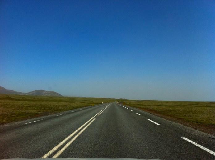 Road in Iceland (photo - Gintarė Adamonytė)