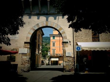 Pietrasanta town in Tuscany