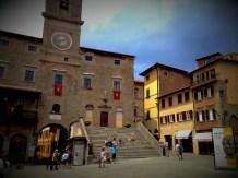 Main square of Cortona
