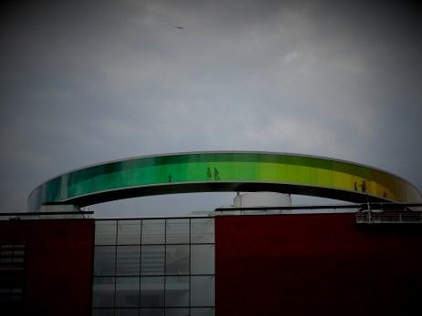 ARoS Kunstmuseum's Rainbow panorama in Aarhus