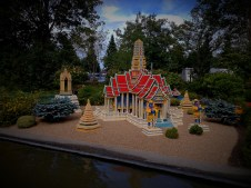 The Wat Phra Keo Temple from Bangkok, made from Lego details