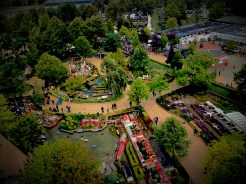 Views from panoramic tower in Legoland