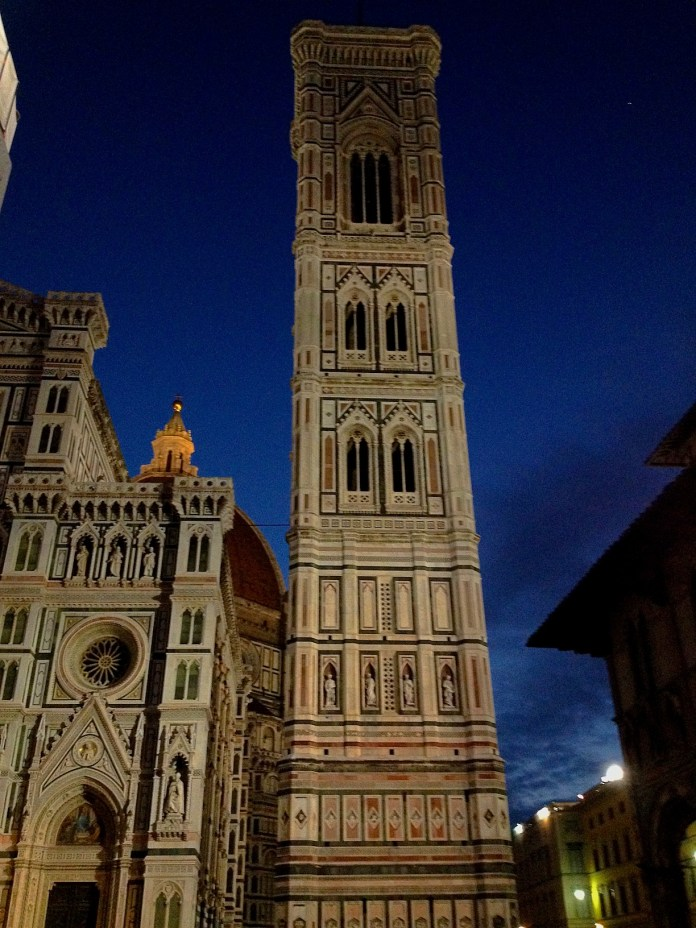 6:53. Florence Cathedral and first appearance of daylight.