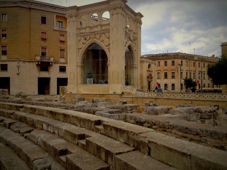 The Amphitheatre of Lecce