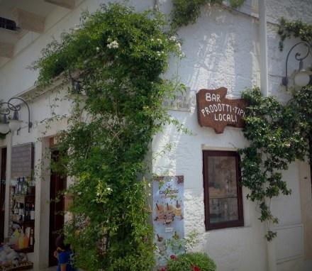 Little shop in Alberobello