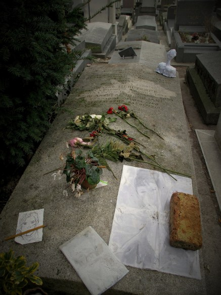 Père Lachaise Cemetery in Paris