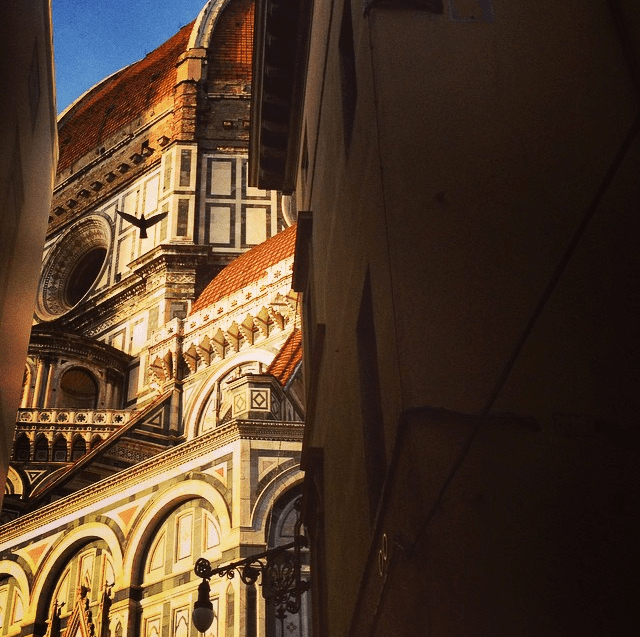 Shadowed views of Florence Cathedral