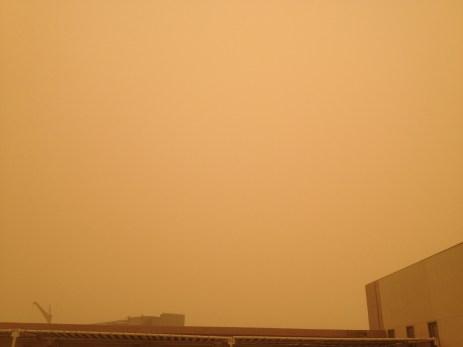 Sandstorm in Abu Dhabi