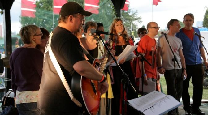 Felix's Rock Choir: Monday 20th April 2015