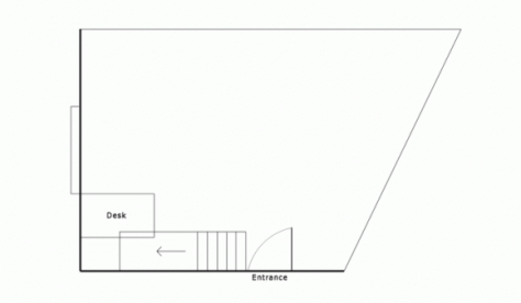 Ladywell Gallery - Ground floor plan