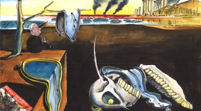 Martin Rowson – Political Cartoons Retrospective: Thursday 9th June 2016