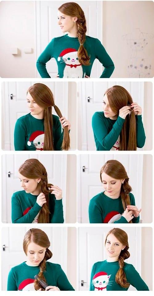 Как самой сделать растяжку на волосах