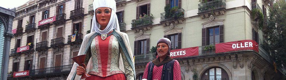 Clotus y Melis, Gegants del Clot en la Mercè 2013