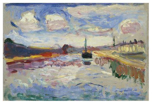 Canal du Midi, por Henri Matisse