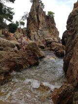 Cala Golfa, Calella. Costa Brava con niños