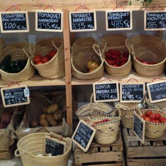 hortalizas kM0 en Barcelona