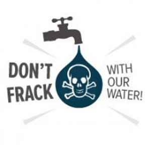 Don't frack with our water