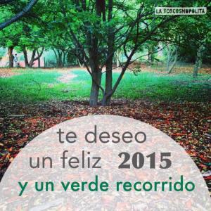 Mensaje de Feliz año 2015