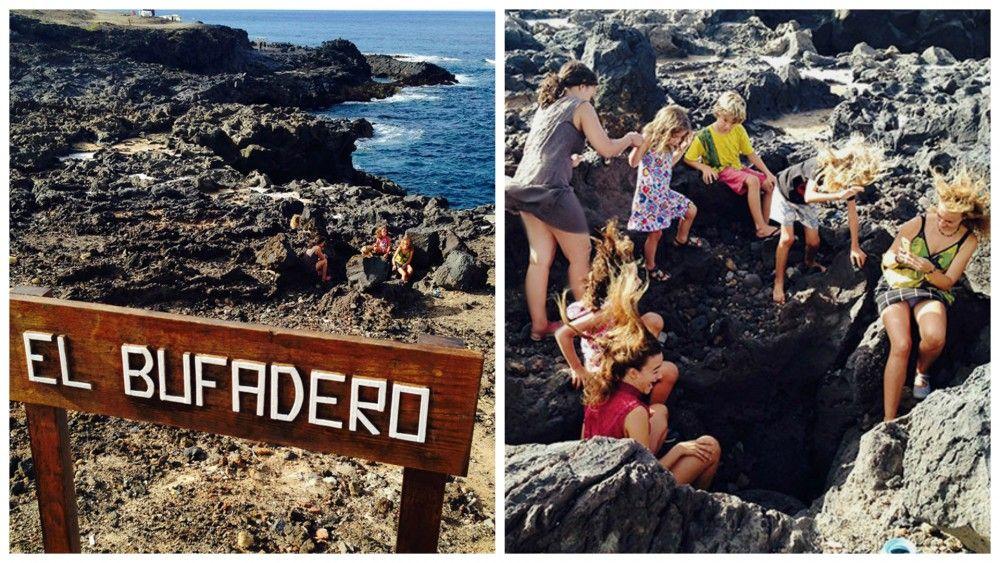 El bufadero Tenerife