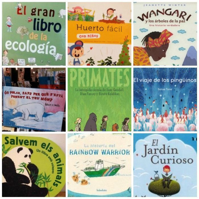 10 libros de medio ambiente para niños