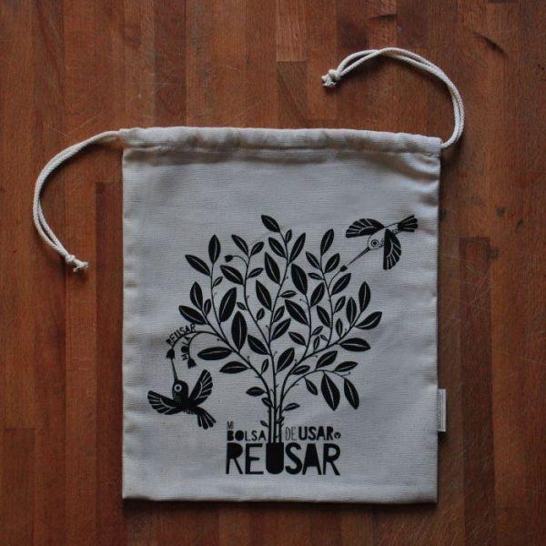 Bolsa para compras ecológicas a granel