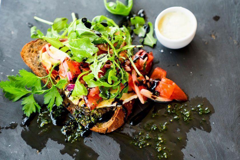 Slow food, ensalada de temporada