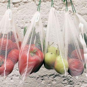 Padk de bolsas para fruta residuo cero y solidarias